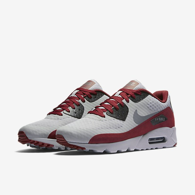 sale retailer e263b cbcad ... Nike Air Max 90 Ultra Essential Wolf Grey Black Team Red Dark Grey ...
