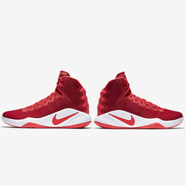 21a06a6cb930 ... new arrivals nike hyperdunk 2016 university red white bright crimson  mens basketball shoes e6315 451ca