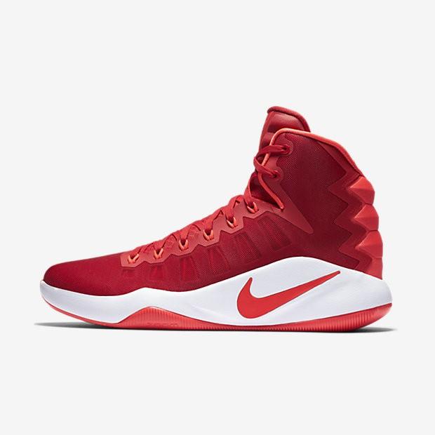 e6f242a34a83 ... Nike Hyperdunk 2016 University Red White Bright Crimson Mens Basketball  Shoes ...