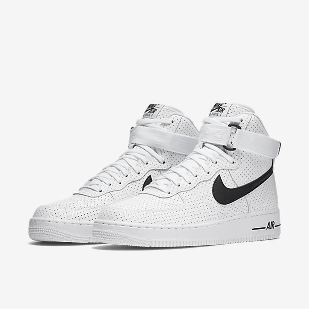 the latest 85102 4ba22 ... Nike Air Force 1 High 07 WhiteBlack Mens Shoes ...
