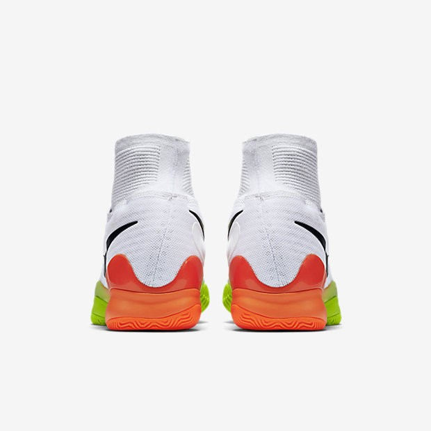 Nike Court Air Zoom Ultrafly WhiteTotal OrangeVoltBlack unisex Tennis Shoes  exclusive ... b128604116