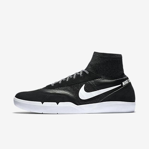 e3d074ac58d ... Nike SB Koston 3 Hyperfeel Black White Mens Skateboarding Shoes ...