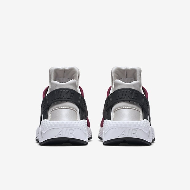 super popular b9061 71909 ... Nike Air Huarache Premium Light Bone Noble Red Plum Fog-Black Womens  Shoes