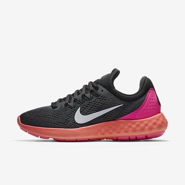 e6145261d60 ... Nike Lunar Skyelux Dark Grey Anthracite Pink Blast White Womens Running  Shoes ...