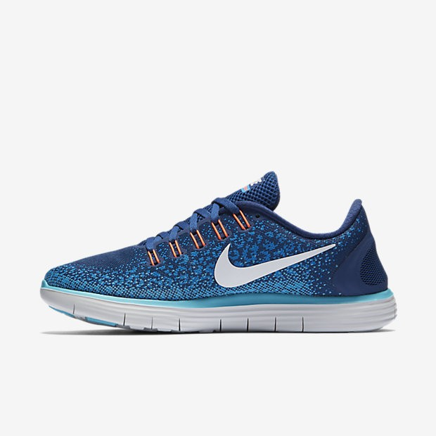 d59eaeb4fb Nike Free RN Distance Coastal Blue/Off White/Heritage Cyan Womens ...