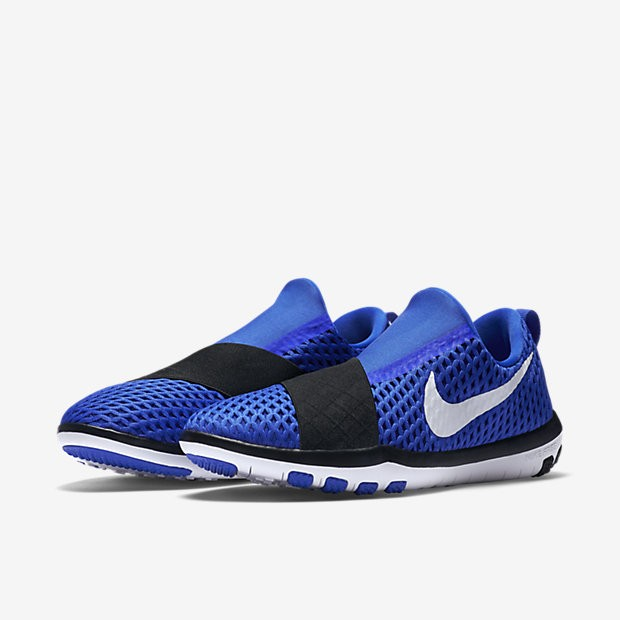 4eaab451124d ... Nike Free Connect Racer Blue Black White Womens Training Shoes ...