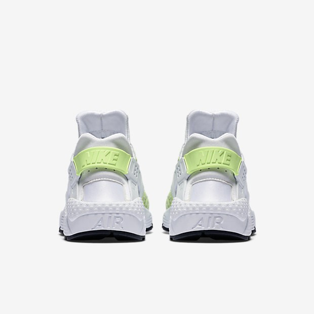the best attitude fc273 dd01a ... Nike Air Huarache Premium White Pure Platinum Black Ghost Green Womens  Shoes
