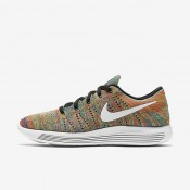 Nike LunarEpic Low Flyknit Black/Racer Blue/Total Crimson/White Mens Running Shoes