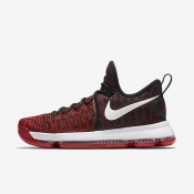 Nike Zoom KD 9 University Red/Black/White Mens Basketball Shoes