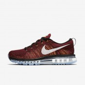 Nike Flyknit Air Max Black/Team Red/Bright Citrus/Summit White Mens Running Shoes
