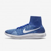 Nike LunarEpic Flyknit Racer Blue/Blue Glow/Bluecap/White Mens Running Shoes