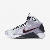 Nike Hyperdunk OG White/Sport Red/Dark Obsidian Mens Basketball Shoes