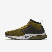 Nike Air Presto Ultra Flyknit Olive/Light Bone/Black Mens Shoes
