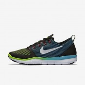 Nike Free Train Versatility Black/Electric Green/White Mens Training Shoes