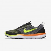 Nike Free Train Versatility Black/Total Orange/Volt Mens Training Shoes
