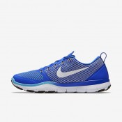 Nike Free Train Versatility Racer Blue/Gamma Blue/Vivid Orange/White Mens Training Shoes