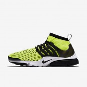 Nike Air Presto Ultra Flyknit Volt/White/Black Mens Shoes