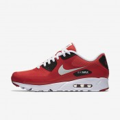 Nike Air Max 90 Ultra Essential Action Red/Gym Red/Black/Pure Platinum Mens Shoes