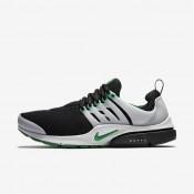 Nike Air Presto Essential Black/Neutral Grey/Pine Green Mens Shoes