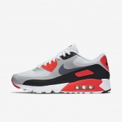 Nike Air Max 90 Ultra Essential White/Infrared/Black/Cool Grey Mens Shoes