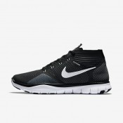 Nike Free Train Instinct Black/Dark Grey/White Mens Training Shoes