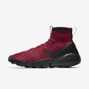 Nike Air Footscape Magista Flyknit F.C. Team Red/Team Red/Metallic Gold/Black Mens Shoes
