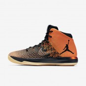 Nike Air Jordan XXXI Black/Starfish/Black Mens Basketball Shoes