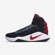 Nike Hyperdunk 2016 Dark Obsidian/Bright Crimson/Dark Obsidian Mens Basketball Shoes