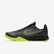 Nike Kobe mentality 2 Black/Wolf Grey/Volt Mens Basketball Shoes