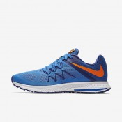 Nike Zoom Winflo 3 Fountain Blue/Deep Royal Blue/White/Total Orange Mens Running Shoes