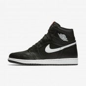 Nike Air Jordan 1 Retro High OG Black/Black/White Mens Shoes