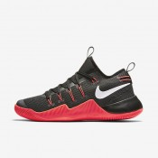3f3cac846c9 Nike Hypershift Black Bright Crimson Anthracite White Mens Basketball Shoes