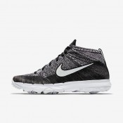 Nike Flyknit Air Max Chukka Black/White Mens Golf Shoes
