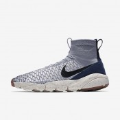 Nike Air Footscape Magista Flyknit Wolf Grey/Sail/Dark Obsidian/Black Mens Shoes