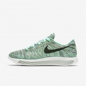 Nike LunarEpic Low Flyknit Green Glow/Ghost Green/Medium Violet/Black Womens Running Shoes