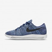 Nike LunarEpic Low Flyknit Dark Purple Dust/Star Blue/Bluecap/Black Womens Running Shoes