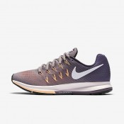 Nike Air Zoom Pegasus 33 Purple Smoke/Purple Dynasty/Peach Cream/White Womens Running Shoes