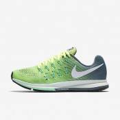 Nike Air Zoom Pegasus 33 Ghost Green/Hasta/Green Glow/White Womens Running Shoes