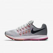 Nike Air Zoom Pegasus 33 Pure Platinum/Cool Grey/Pink Blast/Black Womens Running Shoes