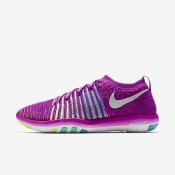 Nike Free Transform Flyknit Hyper Violet/Gamma Blue/Hyper Turquoise/White Womens Training Shoes