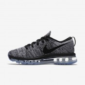 Nike Flyknit Air Max White/Black Womens Running Shoes