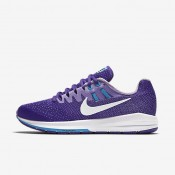 Nike Air Zoom Structure 20 Fierce Purple/Blue Lagoon/Urban Lilac/White Womens Running Shoes