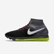 Nike Air Zoom All Out Flyknit Black/Cool Grey/Volt/White Womens Running Shoes