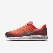 Nike LunarGlide 8 Shield Bright Mango/Plum Fog/Pearl Pink/Metallic Silver Womens Running Shoes