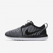 Nike Roshe Two Flyknit Black/White/Cool Grey/Black Womens Shoes