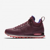 Nike Internationalist Mid Leather Night Maroon/Ember Glow/Concord/Night Maroon Womens Shoes