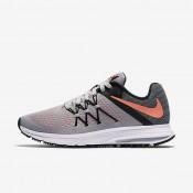 Nike Zoom Winflo 3 Wolf Grey/Black/White/Bright Mango Womens Running Shoes