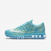 Nike Air Max 2016 Print Gamma Blue/Ghost Green/White Womens Running Shoes