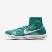 Nike LunarEpic Flyknit Clear Jade/Hyper Turquoise/Rio Teal/White Womens Running Shoes
