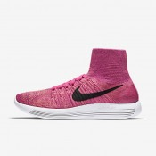 Nike LunarEpic Flyknit Pink Pow/Vivid Purple/Atomic Pink/Black Womens Running Shoes